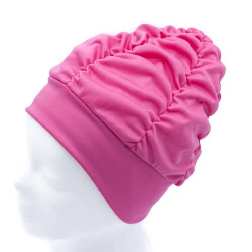 Badekappe Bademütze Duschhaube Damen Fashy Pink