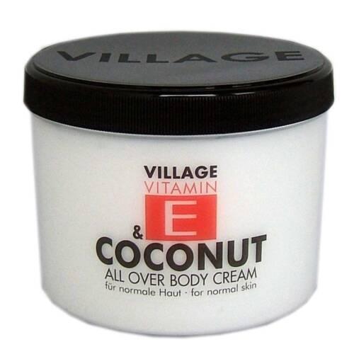 Vitamin E und Coconut Body Cream von Village Cosmetics