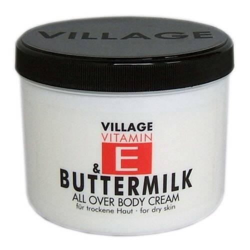Vitamin E und Buttermilk Body Cream von Village Cosmetics